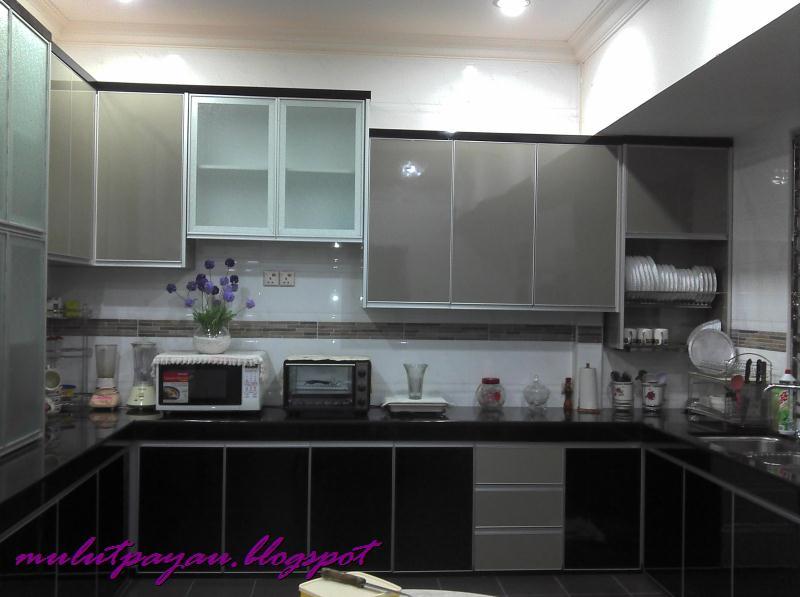 Kabinet Dapur Warna Kelabu Desainrumahid Com