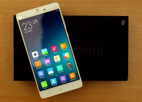 Cách bắt lỗi trên màn hình Xiaomi Mi Note