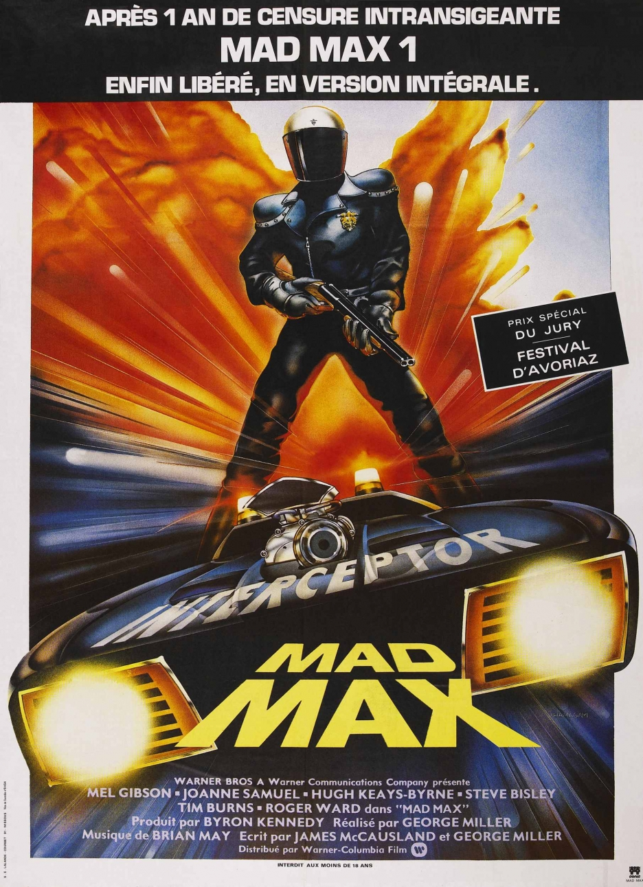 The Geeky Nerfherder: Movie Poster Art: Mad Max Trilogy (1979-1985)