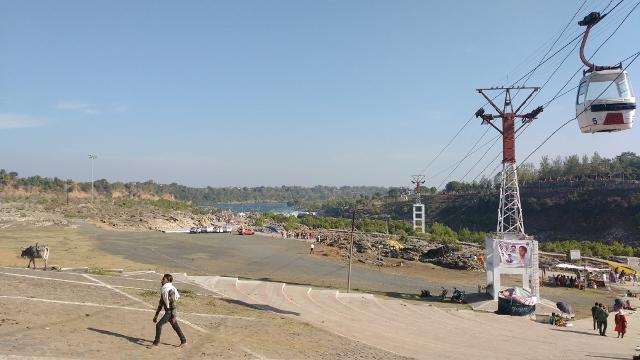 Dhuandhar Bhedaghat Narmada river