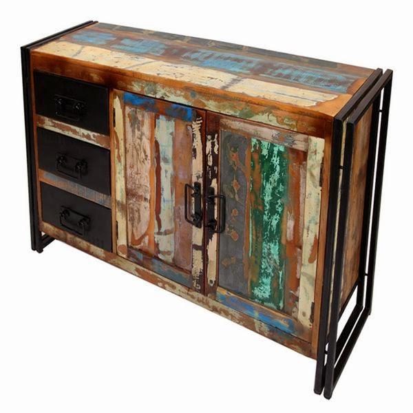 mueble aparador rustico reciclado