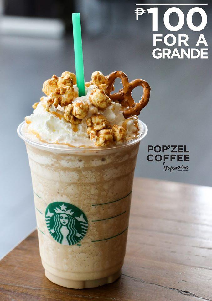 Manila Shopper Starbucks P100 For A Grande Promo June 7 2017