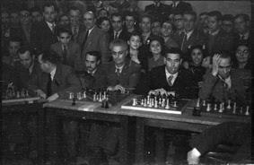 Simultáneas de Arturito Pomar en Lérida el 17 de abril de 1946 (22)