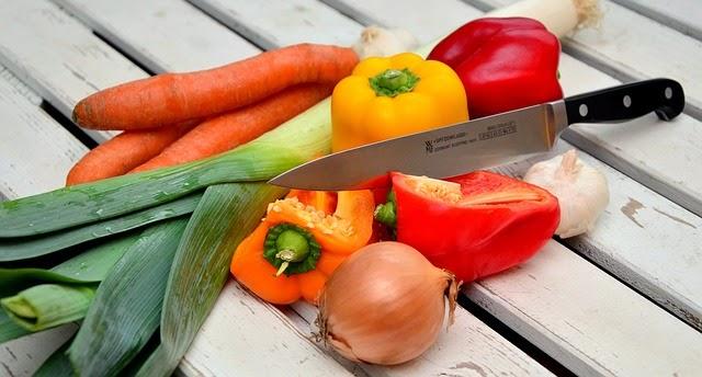 cortar verdura juliana