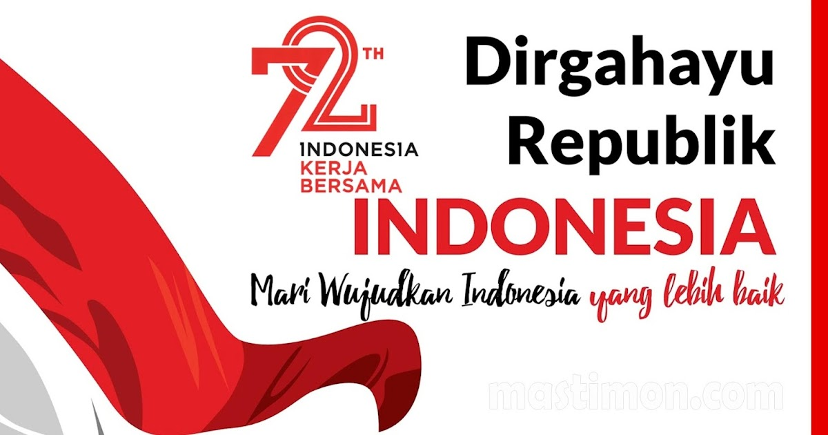 Contoh Desain Banner 17 Agustus