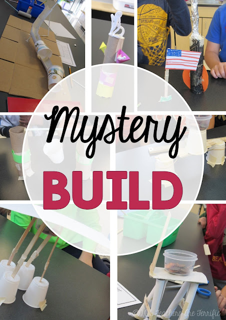 It's a Mystery Build pack FREEBIE! Each group must choose materials carefully and every group is building something different! Let's make it tricky and add a budgeting feature!