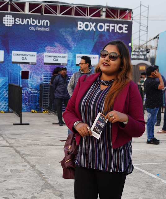 Sourajit Saha at Sunburn 2018 Kolkata 3