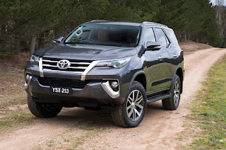 new fortuner india
