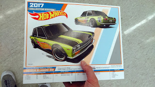 hot wheels mail-in datsun 510 kday