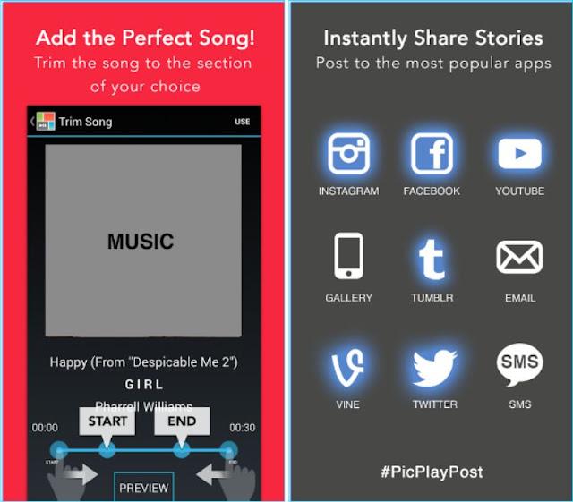 Aplikasi Android untuk membuat Video Kolase Android