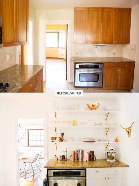Actualizar la cocina por poco dinero