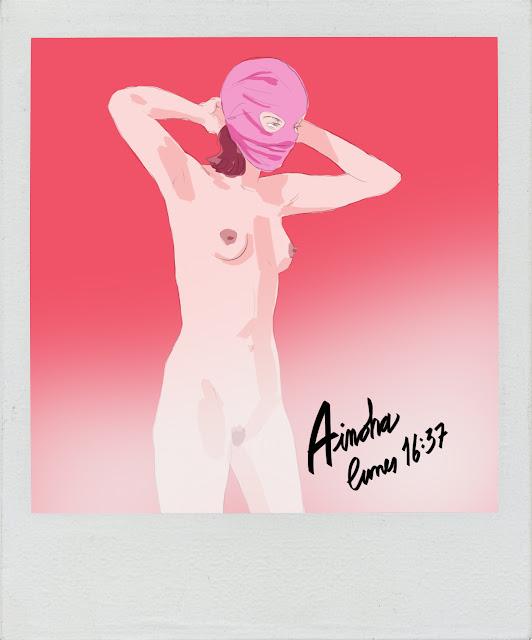 shoo bop illustration drawing sexy girl Jordi Pastor