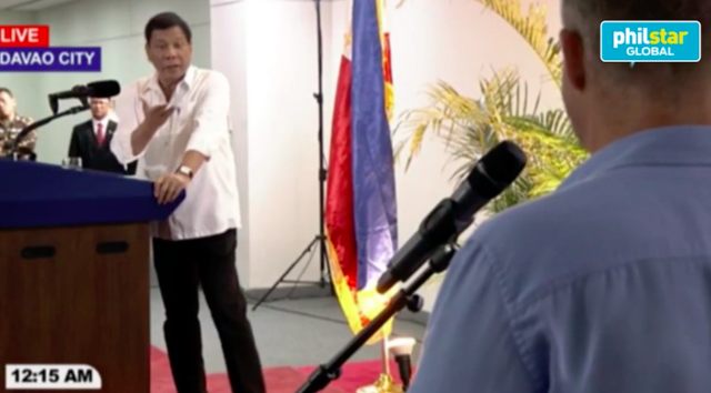 The Philippines' President Swore At A British Journalist During Another Anti-US Tirade