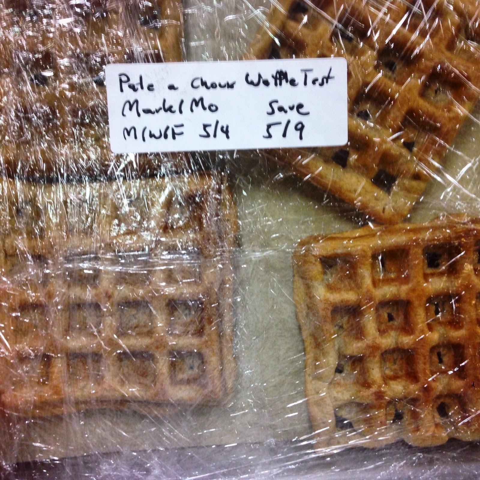 Pate a Choux Waffle Test