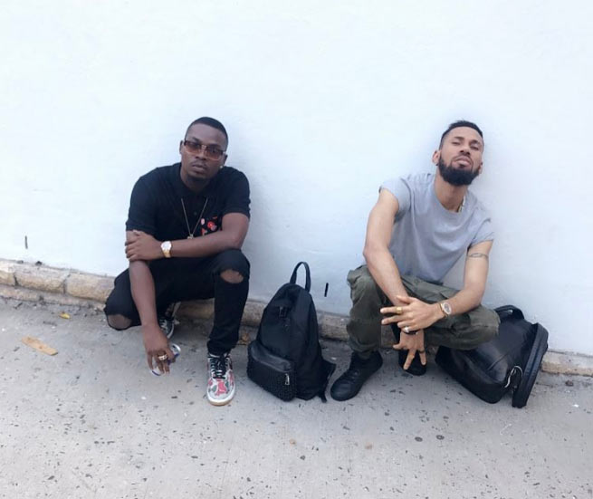 Just like Jay-Z & Kanye West: Fans gush over Phyno & Olamide set photos