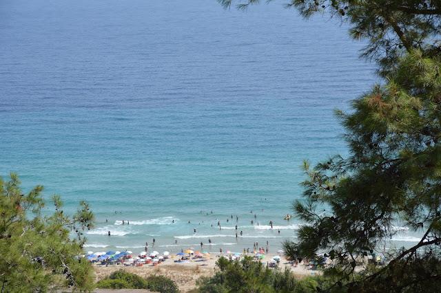 Thassos (Taşöz) Adası plajı