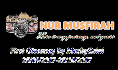 Giveaway, Blogger, Blog, Gift, Hadiah, Peserta, Pemenang, Blog Miss Banu Story,