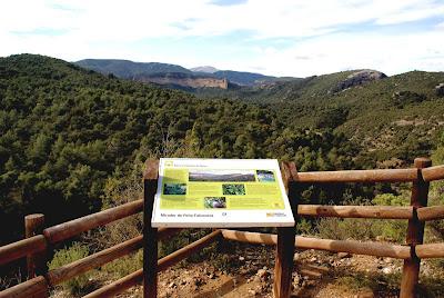 Mirador Peña Falconera Sierra de Guara