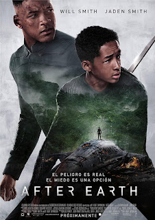 Póster: After Earth (M. Night Shyamalan, 2.013)