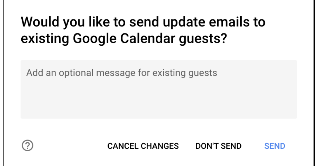 G Suite Updates Blog: Non-Google Calendar users will now