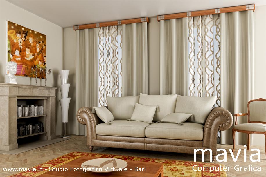 Arredare Casa Con Le Tende.Arredamento Di Interni Living Room 3d Interior Design 3d Arredo