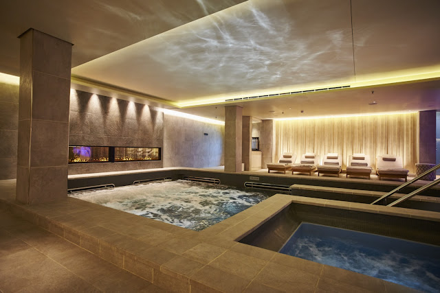 Welcome to rejuvenation at the Liv Nordic Spa. Photo: © Viking Cruises. Unauthorized use is prohibited.