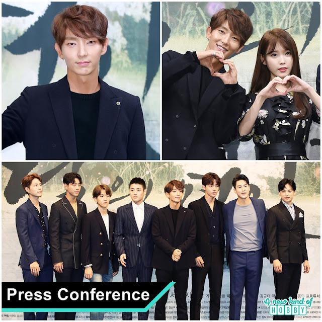 Lee Joon Gi, IU & Flower Boys Cast (Press conference) Moon Lovers Scarlet Heart Ryeo