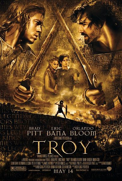 Poster of Troy 2004 Directors Cut 720p Hindi BRRip Dual Audio Full Movie Download