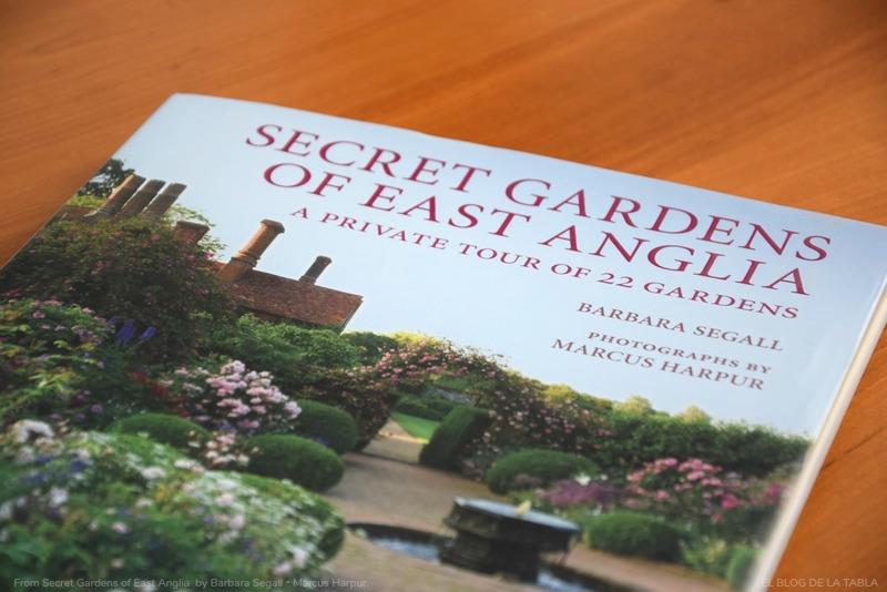 Libro Jardines secretos en inglaterra,