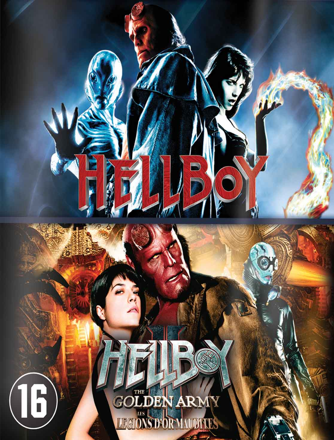 Hellboy 1 e 2 Torrent – Blu-ray Rip 720p e 1080p Dublado (2004-2008)