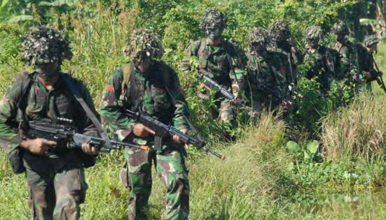 Contoh Ancaman Militer