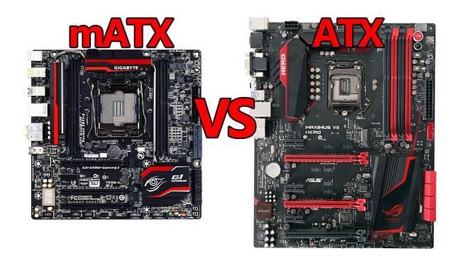 Perbedaan Motherboard ATX dan micro ATX