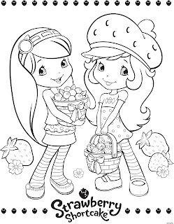 trail etiquette coloring pages | Life Lessons in Animation with Strawberry Shortcake ...