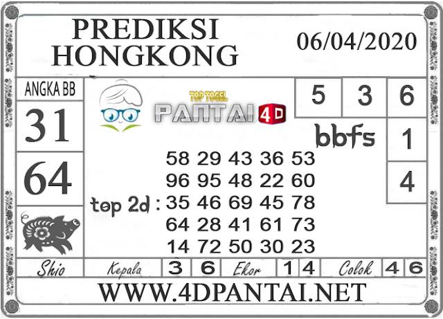 PREDIKSI TOGEL HONGKONG PANTAI4D 06 APRIL 2020