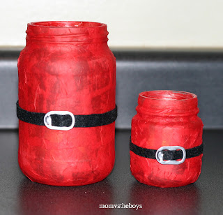 Santa Crafts Kids Can Make - santa candle craft