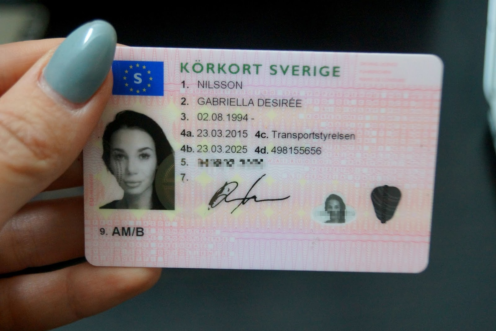 foto till körkort