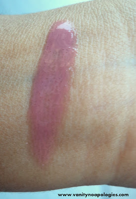 mac me over lip glass swatches curvaceous