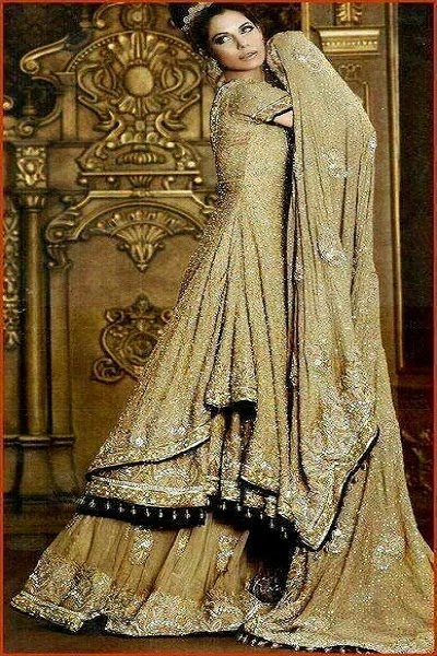 Wedding dresses in pakistani frocks images