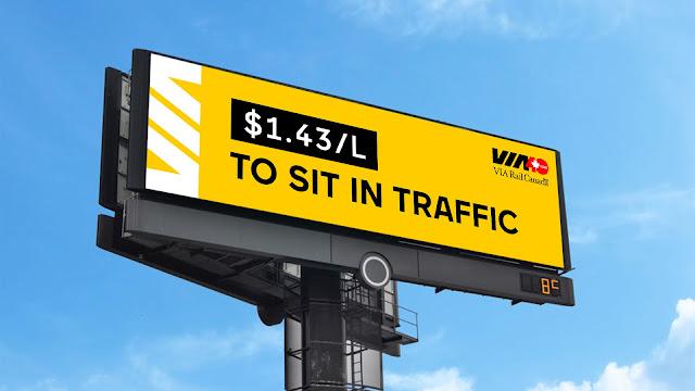 VIA Rail Helps You Skip Traffic of All Kinds