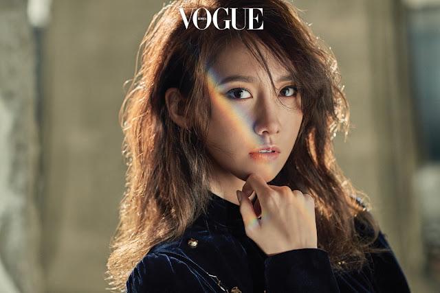 YoonA 윤아 Vogue Pics