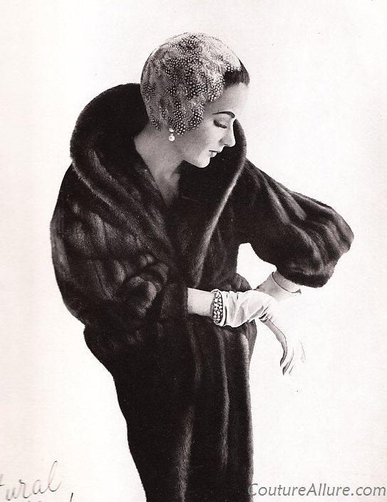 9d35af883bc0 Couture Allure Vintage Fashion: Vintage Bergdorf Goodman Mink Coat ...