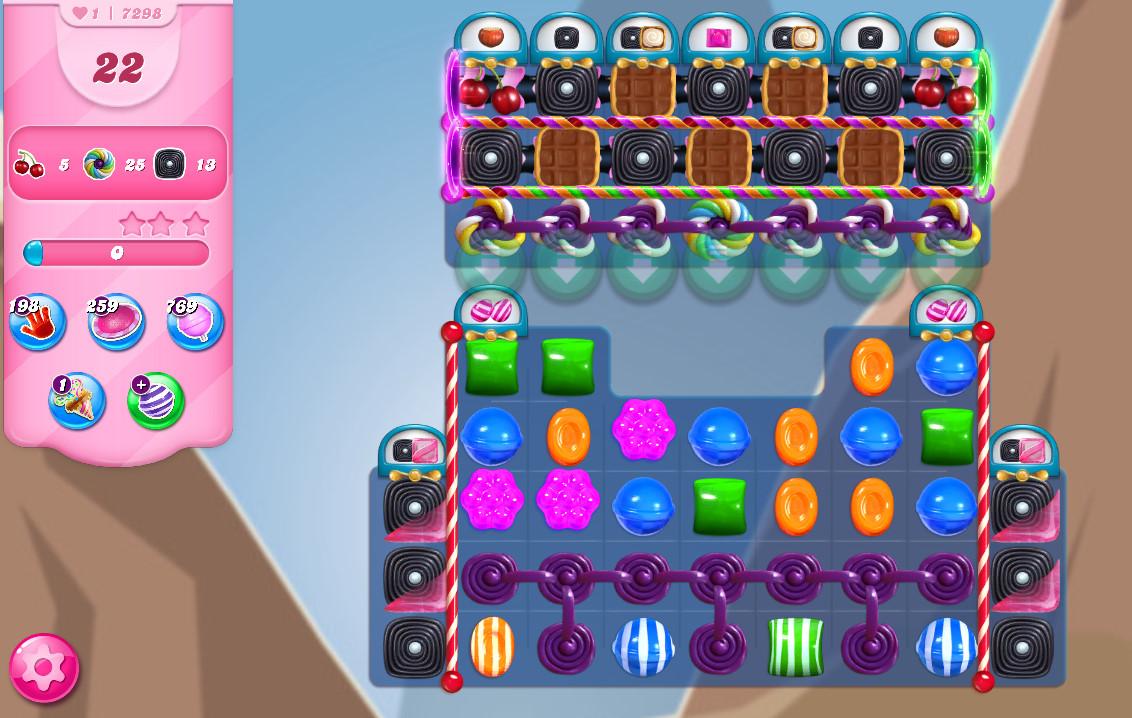 Candy Crush Saga level 7298