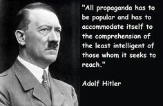 Hitler on propaganda