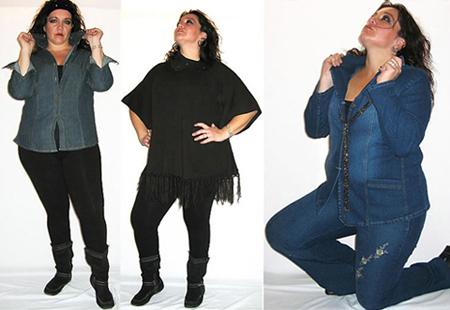 dd69c49956f8 La moda y la mujer moderna: ROPA CASUAL TALLAS XXXL