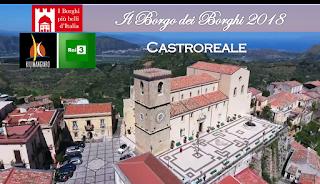 BORGO DEI BORGHI 2018: IN GARA LA SICILIA CON CASTROREALE