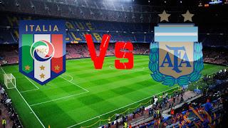 مشاهدة مباراة ايطاليا والأرجنتين بث مباشر بتاريخ اليوم 23-03-2018 مباراة ودية