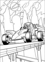 Fábrica dos Convites: Desenhos para Colorir: Hot Wheels