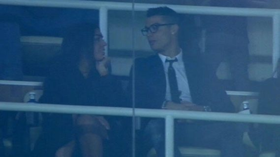 Cristiano Ronaldo takes his girlfriend Georgina Rodriguez to watch Real Madrid match (photos)