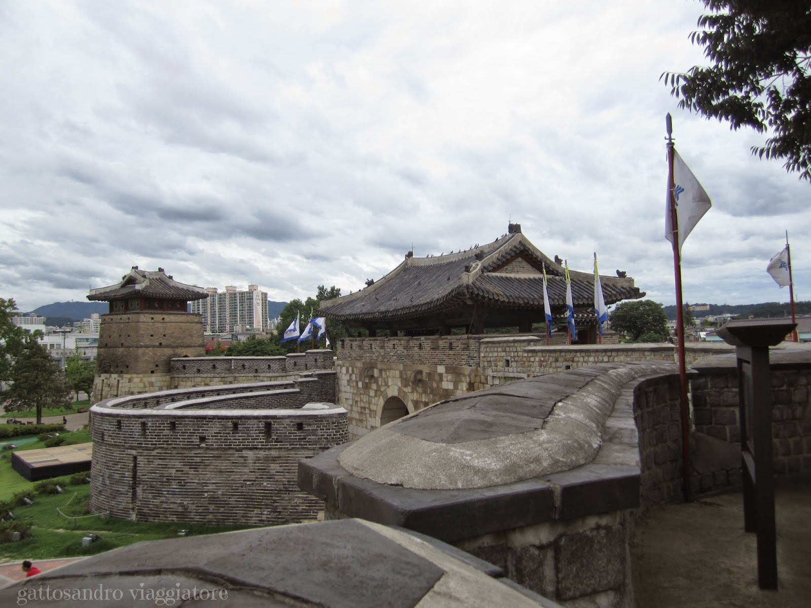 Hwaseoumun - Suwon Hwaseong Fortress