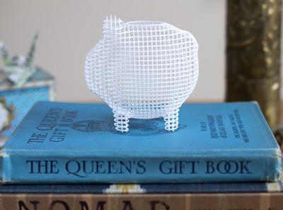 3D-printed piggy bank